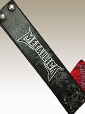 Metallica - Leather Wristband1 (23x5Cm)