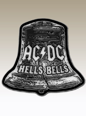 AC/DC - Bell Metal Pin (3,5Cm)