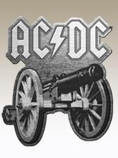 AC/DC - Cannon Metal Pin (3,5x3Cm)