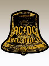 AC/DC - Shaped Patch (10x9Cm)