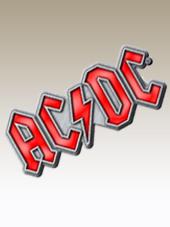 AC/DC - Red Logo Metal Pin (4x1,5Cm)