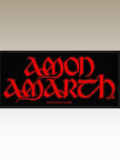 Amon Amarth - Logo Patch (10x5Cm)