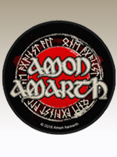 Amon Amarth - Round Patch (9,5Cm)