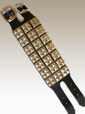 Studded Leather Wristband 3