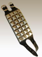 Studded Leather Wristband 4