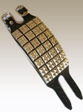 Studded Leather Wristband 4a