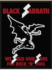 Black Sabbath - Soul Patch (10x7,5Cm)