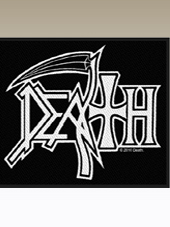 Death - Logo Patch (10x8Cm)