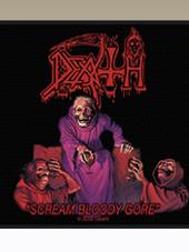 Death - S.B.G. Patch (10x10Cm)