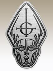 Ghost - Papa Metal Pin (4x2,5Cm)