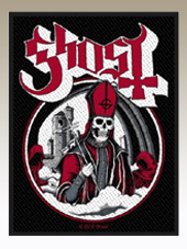 Ghost - Secular Patch (10x8Cm)