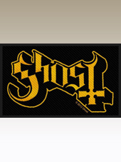 Ghost - Logo Patch (10x6Cm)