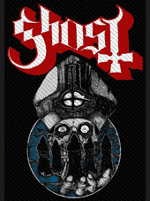 Ghost - Pope Patch (10x7,5Cm)