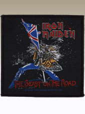 Iron Maiden - Road Patch (11x8Cm)