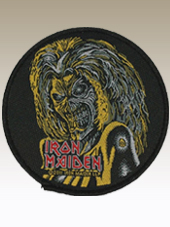 Iron Maiden - Killers Patch (9Cm)