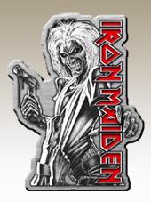Iron Maiden - Metal Pin (4x3Cm)