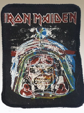 Iron Maiden - Patch Vintage2 (8x10Cm)