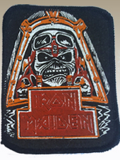 Iron Maiden - Patch Vintage (8x10Cm)