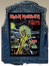 Iron Maiden - BackPatch