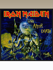 Iron Maiden - Live Patch (11x10Cm)