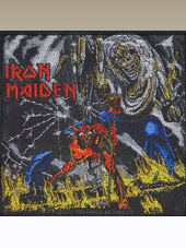 Iron Maiden - Number Patch (10x10Cm)