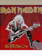 Iron Maiden - Red Patch (11x10Cm)