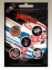 Judas Priest - Set 5 Pins (2,5Cm)