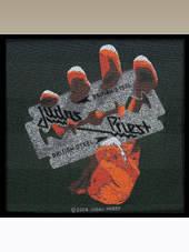 Judas Priest - British Steel Patch (10x9Cm)