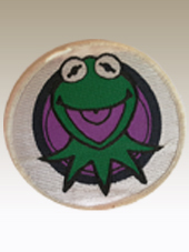 The Muppets - Kermit Patch (8Cm)