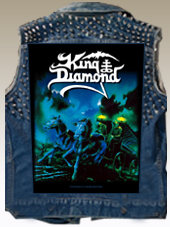 King Diamond BackPatch