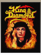 King Diamond - Fatal P. Patch (10x7,5 Cm)