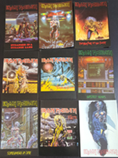 Iron Maiden - Set 9 Official Cards (10x15Cm)