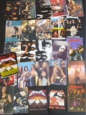 Metallica - Set 25 Cards (10x15Cm) + 1 Sticker