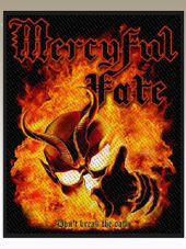 Mercyful Fate - Oath Patch (10x8Cm)