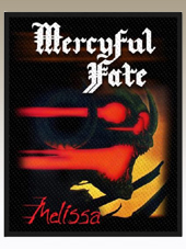 Mercyful Fate - Melissa Patch (10x8Cm)