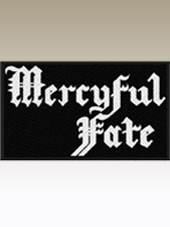 Mercyful Fate - Logo Patch (10x6Cm)