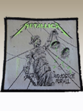 Metallica - Justice Patch (10x10Cm)
