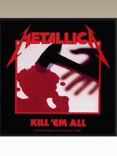 Metallica - Kill... Patch (10x9,5Cm)