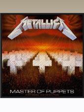Metallica - Master... Patch (10x9,5Cm)