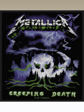 Metallica - Creeping Death Patch (10x9Cm)