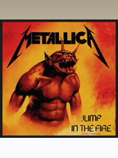 Metallica - Jump Patch (10x10Cm)