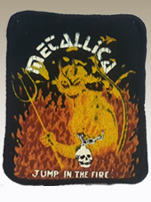Metallica - Patch Vintage2 (8x10Cm)