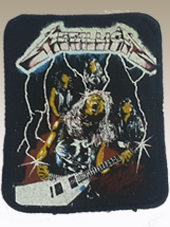 Metallica - Patch Vintage (8x10Cm)