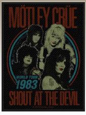 Motley Crue - Patch (10x7,5Cm)