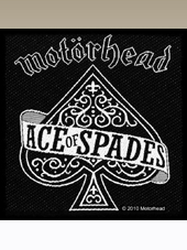 Motorhead - Ace of Spades Patch (10x10Cm)