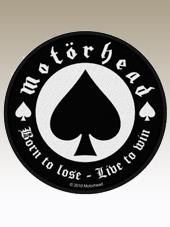 Motorhead - Born to Lose Patch (9Cm)