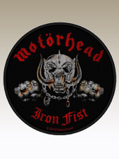 Motorhead - Iron Fist Patch (9Cm)