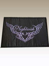 Nightwish - Purple Logo Patch (11x7Cm)