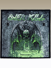 Overkill - Patch (10x10Cm)