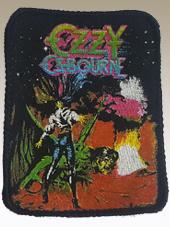 Ozzy Osbourne - Patch Vintage (8x10Cm)